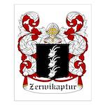 Zerwikaptur Coat of Arms Small Poster