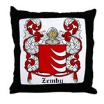 Zemby Coat of Arms Throw Pillow