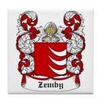 Zemby Coat of Arms Tile Coaster