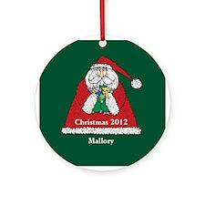 Personalized Santa Claus Ornament