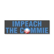 Impeach The Commie Car Magnet 10 x 3