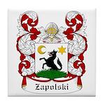 Zapolski Coat of Arms Tile Coaster
