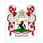 Zapolski Coat of Arms Small Poster
