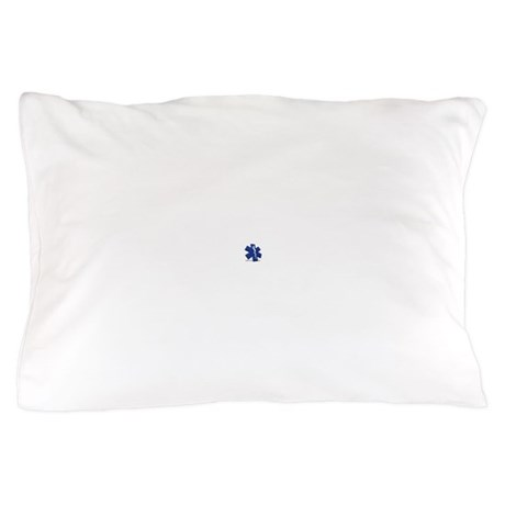 EMT/Paramedic Logo Star of Life Pillow Case
