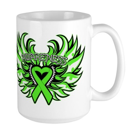 Non-Hodgkins Lymphoma Wings Large Mug