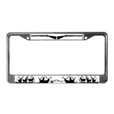 Muzzle loader License Plate Frame