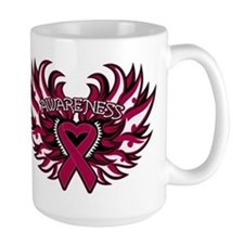 Multiple Myeloma Heart Wings Mug