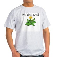 I Hate Dandelions Mens Shirt