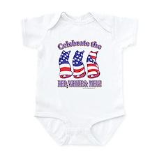USA/Patriotic Kitty Cats Infant Bodysuit