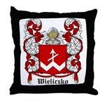 Wieliczko Coat of Arms Throw Pillow
