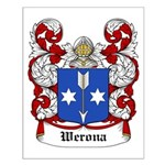 Werona Coat of Arms Small Poster