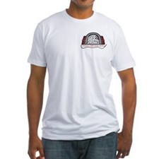 Men's Shirt - White - Logo Front/Back