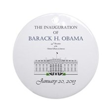 Inauguration of Barack H. Obama 2013 Ornament (Rou