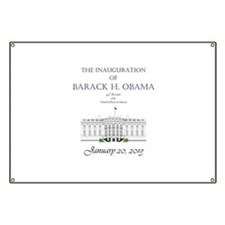 Inauguration of Barack H. Obama 2013 Banner
