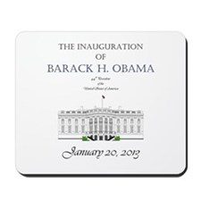 Inauguration of Barack H. Obama 2013 Mousepad