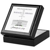 Inauguration of Barack H. Obama 2013 Keepsake Box