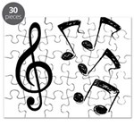 G-clef with NOTES IV.psd Puzzle