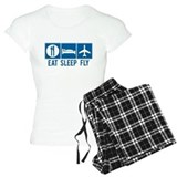 Eat Sleep Fly Women's Pajamas