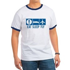 Eat Sleep Fly Tee