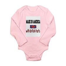 Cute Jack Long Sleeve Infant Bodysuit