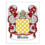 Wczele Coat of Arms Small Poster