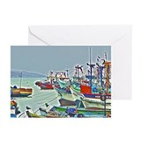 Port of Paracas, Peru Greeting Cards (Pk of 10)