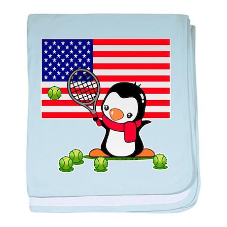 Tennis Popo baby blanket