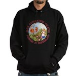 Alice Encounters Talking Flowers Hoodie (dark)
