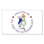 Follow Me - I'll Take You to Wonderland Sticker (R