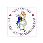 Follow Me - I'll Take You to Wonderland Square Sti