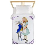 Follow Me - I'll Take You to Wonderland Twin Duvet