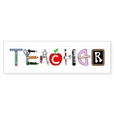 Teacher Bumper Bumper Sticker
