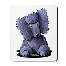 Blue Poodle Mousepad