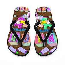 NICU Nurse Flip Flops