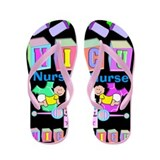 NICU Nurse Flip Flops