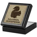 Vintage Squirrel Whisperer Keepsake Box