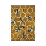 Honey Bees Rectangle Magnet