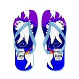 Tooth Design Flip Flops