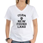 Team Newfoundland Women's V-Neck T-Shirt