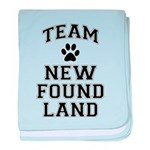 Team Newfoundland baby blanket