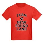 Team Newfoundland Kids Dark T-Shirt