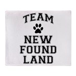 Team Newfoundland Throw Blanket