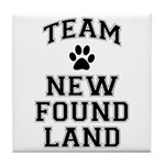 Team Newfoundland Tile Coaster
