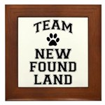 Team Newfoundland Framed Tile