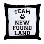 Team Newfoundland Throw Pillow