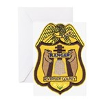Riverside County Ranger Greeting Cards (Package of