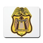 Riverside County Ranger Mousepad