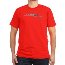 Fitted Tee (dark) - FJ55 vintage emblem
