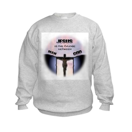 Jesus is the Bridge Kids Sweatshirt