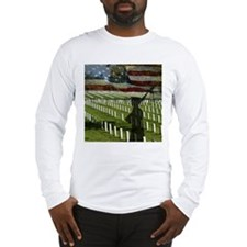 Guard at Arlington National Cemetery Long Sleeve T